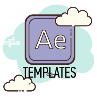 Telegram channel After Effects Templates logo