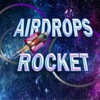 Telegram channel AIRDROPS ROCKET logo