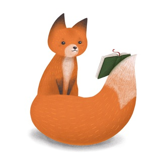Telegram channel Книжный Лис 🦊📚 logo