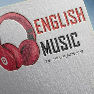 Telegram channel English music🎶🎧 logo