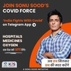 Telegram channel India Fights With Covid - Sonu Sood logo