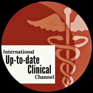 Telegram channel International Up-to-date Clinical Channel, IUCC logo
