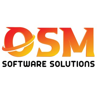 Telegram channel OSM SOFTWARE SOLUTIONS logo