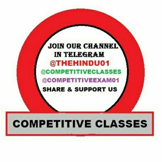 Telegram channel Competitive Exams logo
